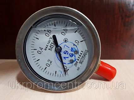 Манометр, вакуумметр и мановакуумметр виброустойчивый ДМ05063Г (глицериновый)