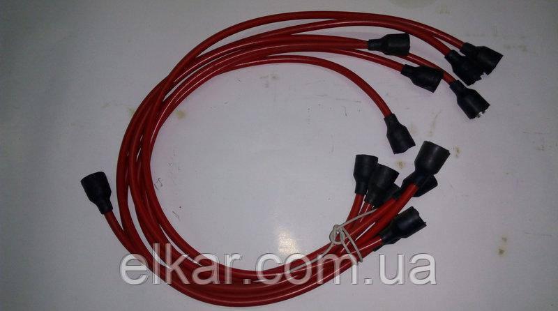 Провода високовольтні (мідь)  9шт ГАЗ-53 53-3707078 (Україна)