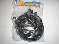 Провода високовольтні (мідь)  коричн. 9шт. ЗИЛ-130 130-3706371 (Україна)