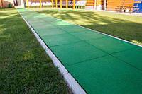 Резиновое покрытие для садовых дорожек