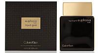 Мужская парфюмерная вода Calvin Klein Euphoria Men Liquid Gold, 100 мл