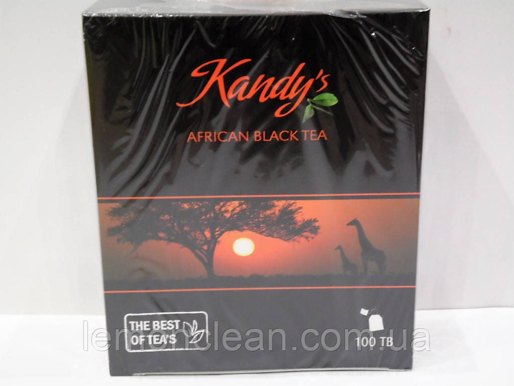 Чай черный Kandys african black tea 100 пак