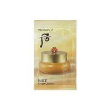 The History of Whoo Очищающий крем Пробник Gong jin Hyang Cream cleanser 1ml