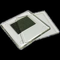 Акриловая заготовка для магнита на холодильник квадратная