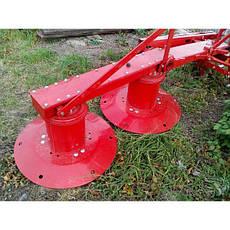 Косарка косилка роторна на мінітрактор 1,35 м Wirax Польща, фото 3