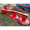 Косарка косилка роторна на мінітрактор 1,35 м Wirax Польща, фото 6