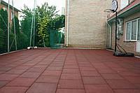 Плитка для сада и дачи. Резиновое покрытие для загородного дома