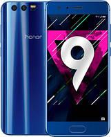 "Смартфон Huawei Honor 9 Blue, 6/64Gb, 20+12/8Мп, 5.15"" IPS, 2 sim, 4G, 3200мАh, Kirin 960, 8 ядер, фото 1"