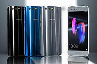 "Смартфон Huawei Honor 9 Blue, Gray 6/128Gb, 20+12/8Мп, 5.15"" IPS, 2 sim, 4G, 3200мАh, Kirin 960, 8 ядер, фото 1"