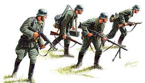 Немецкие панцергренадеры (1939-1942). 1/35 MASTER BOX 3513
