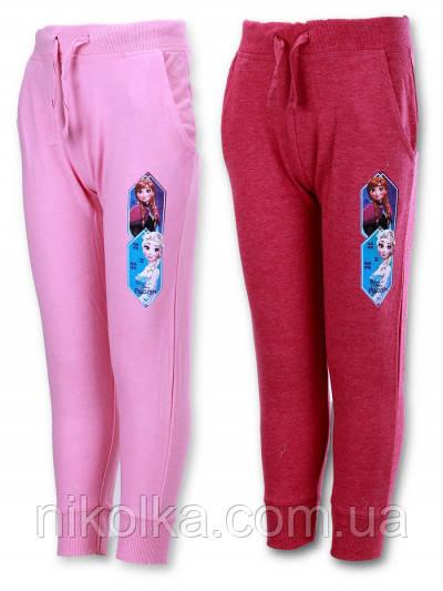 Спортивные брюки для девочек оптом, Disney, 3-8 лет., арт. 990-996