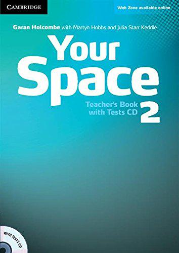 Your Space 2 Teacher's Book with Tests CD (книга учителя)