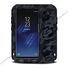 Чехол противоударный Love Mei для Samsung Galaxy S8 Plus G955 Camouflage City