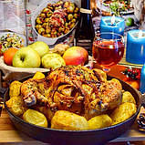 Сковорода чугунная с рифленым дном Fissman 23 см (Антипригарное покрытие), фото 7