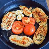 Сковорода чугунная с рифленым дном Fissman 23 см (Антипригарное покрытие), фото 8