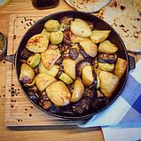 Сковорода чугунная с рифленым дном Fissman 23 см (Антипригарное покрытие), фото 10