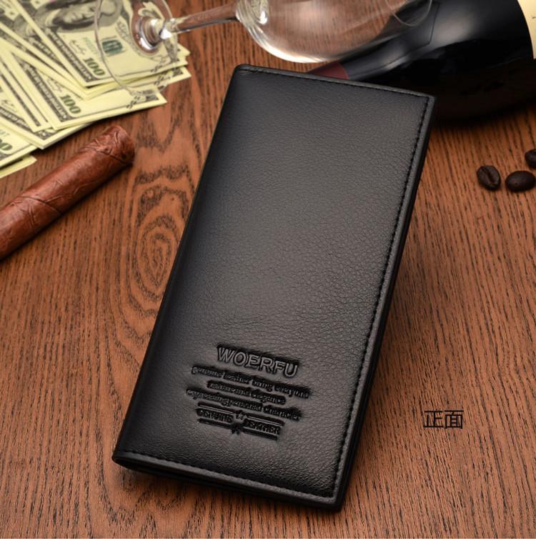 Бумажник чоловічий великий натуральна шкіра 2-й сорт