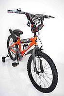 Велосипед детский NEXX BOY 20 дюймов Оранжевый-Сплэш, фото 1