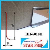 Плинтус из нержавеющей стали ПН-6010П, высотой 60мм, Полированный, фото 1