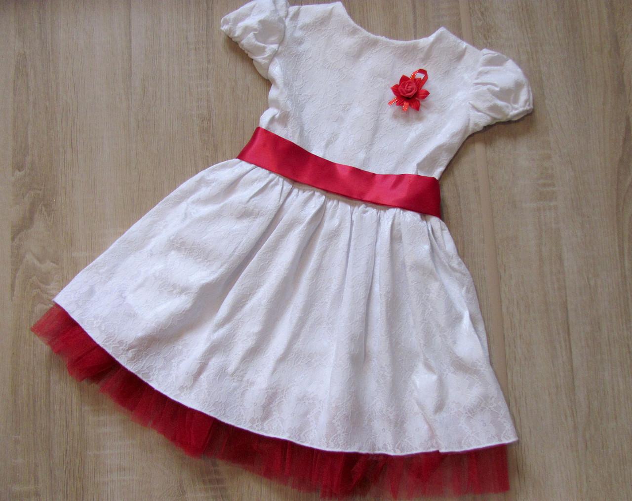 de1670a4b43 Р.116 Детское Праздничное Платье