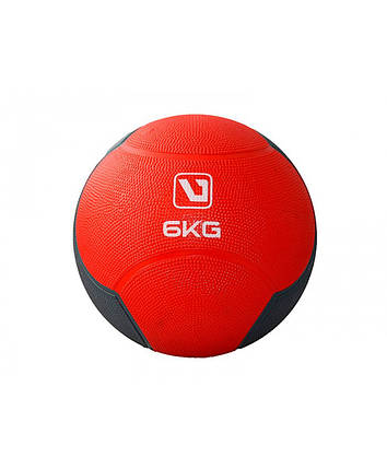Медбол твердый 6 кг MEDICINE BALL LS3006F-6, фото 2