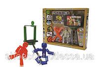 Набор для анимации Stikbot Стикбот 2 фигурки, подставка под телефон