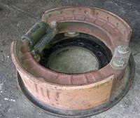 Опорный диск в сборе с колодками Урал-4320