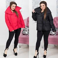 Зимняя женская куртка на завязках №5070 (р.48-54)