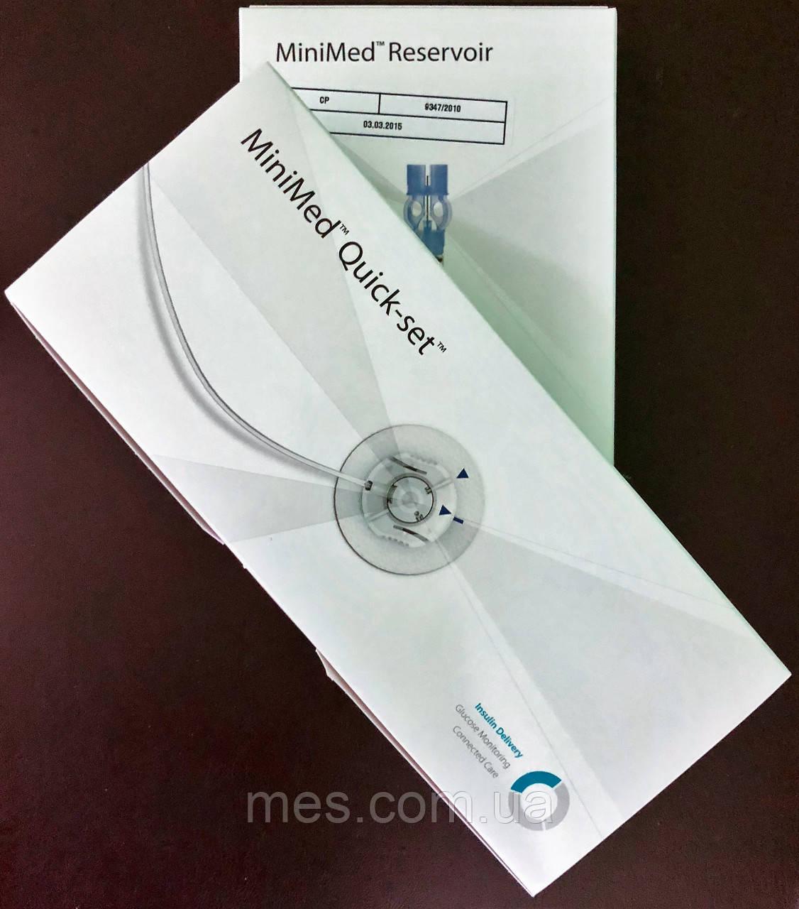 Комплект - Инфузионный набор и резервуары