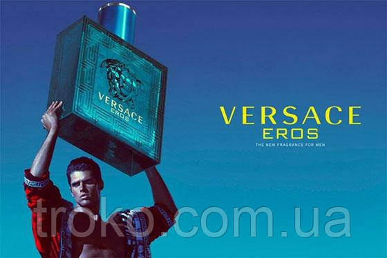 Туалетная вода для мужчин Versace Eros 100мл
