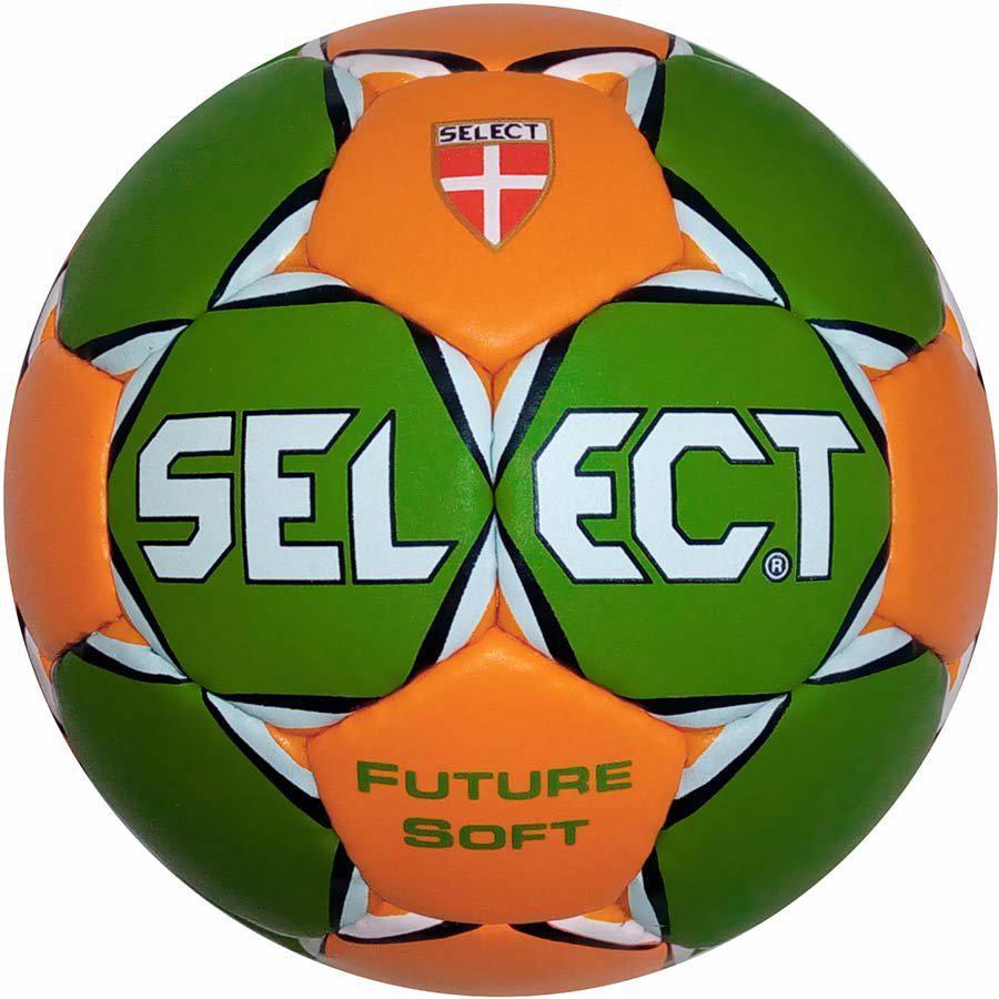 Мяч гандбольный SELECT FUTURE SOFT MINI (зел/оранж) р.0