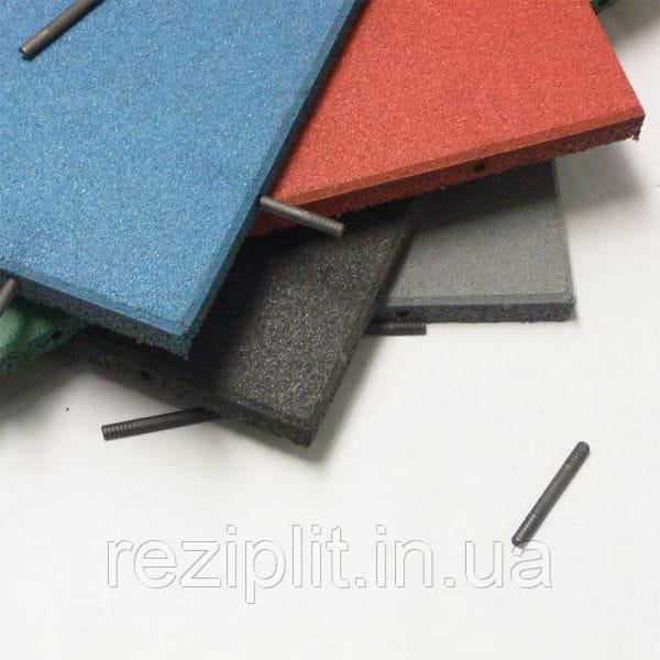Резиновое напольное покрытие для детских площадок