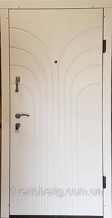Вторая входная дверь модель П3-274 скол дуба белый, фото 2