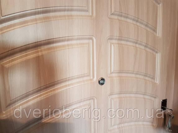 Входная дверь модель П3-190 дуб шимо светлый, фото 2