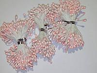 Тычинки на нитке двухсторонние.розовые