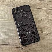 """Силиконовый чехол """"Tinfoil"""" для iPhone 6 / 6s Black"""