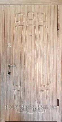 Входная дверь модель П3-256 лиственица светлая, фото 2