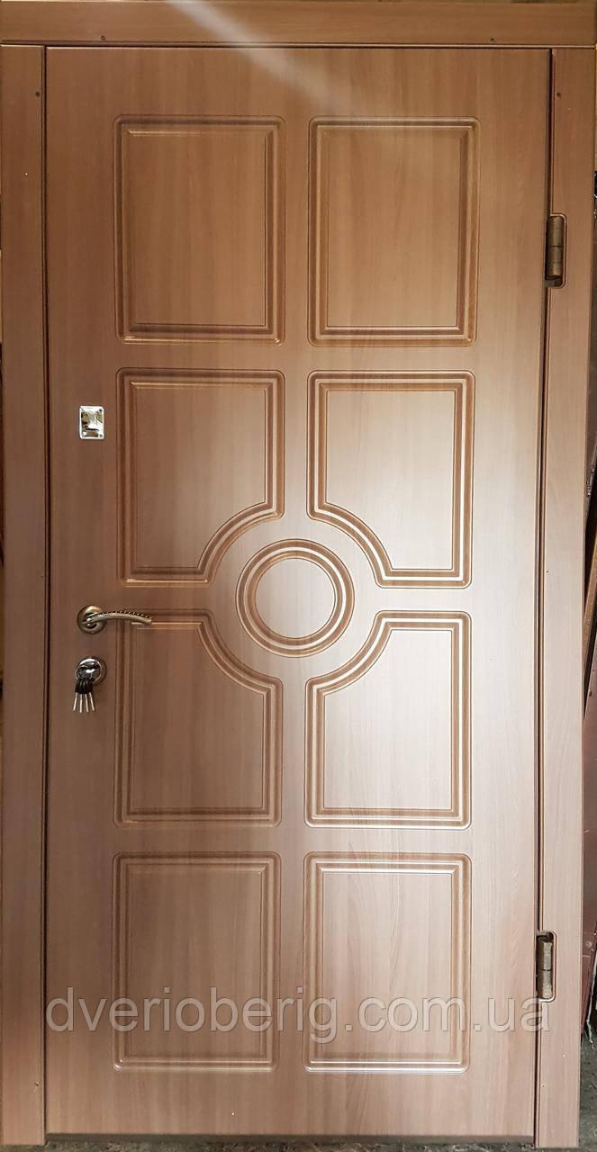 Входная дверь модель П3-195 дуб шимо темный