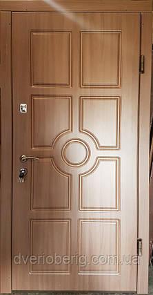 Входная дверь модель П3-195 дуб шимо темный, фото 2
