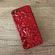 """Силиконовый чехол """"Tinfoil"""" для iPhone 6 / 6s Red"""