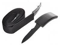Уникальный мужской подарок Ремень-нож Grizzly (нержавеющая сталь)