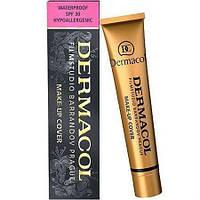 Тональный крем 209 Dermacol (Дермакол) Светлый бежево-персиковый