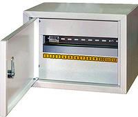 Шкаф металлический распределительный модульный E.NEXT - 12 модулей; IP30; навесной с замком