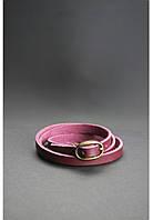 Браслет-лента из кожи с пряжкой Виноград