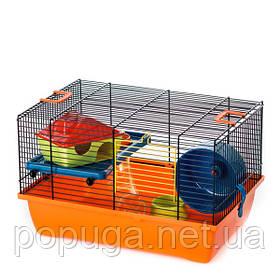 Клетка для грызунов, эмаль GINO+TUBE InterZoo 42*29*26 см