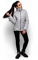 Тепла коротка сіра куртка Merlin (S, M, L)