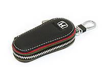 Ключница Carss с логотипом HONDA 08005 черная