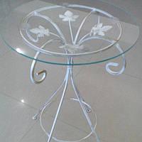 Журнальный столик высокий белый, фото 1