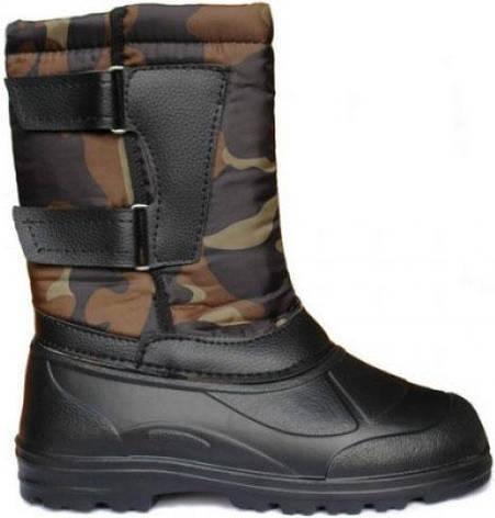 Ботинки мужские с застёжками-липучками Кредо «Термос» р.43-44, фото 2