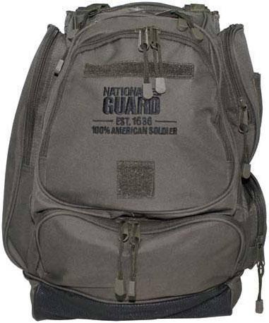 Рюкзак 40л MFH «Национальная гвардия (США)» тёмно-зелёный 30353B, фото 2